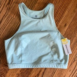 Worn for 1 hr! SoulCycle Crop Top Open Back